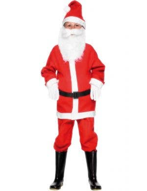Santa Claus Boy's Festive Christmas Costume