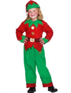 Elf Kids Budget Christmas Costume