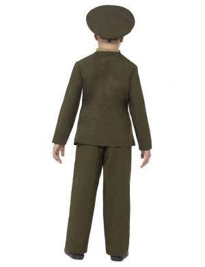 1940's Army Officer Boys Fancy Dress Costume