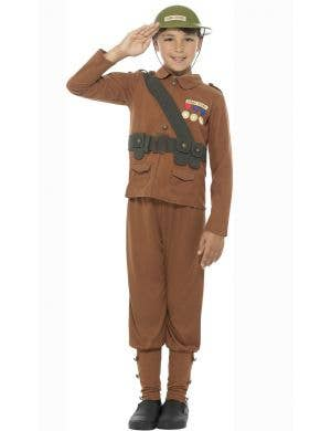 Horrible Histories Boys World War 1 Soldier Book Week Costume Front