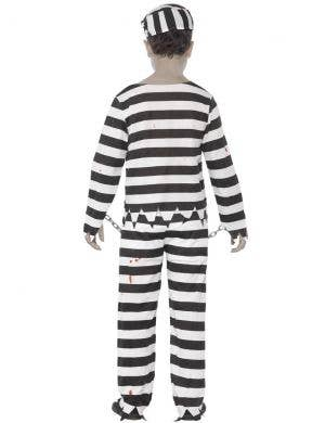 Undead Convict Boys Halloween Zombie Costume