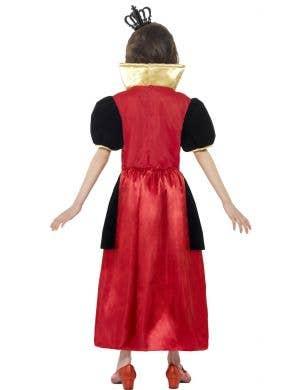 Miss Heart Girls Red Queen Costume