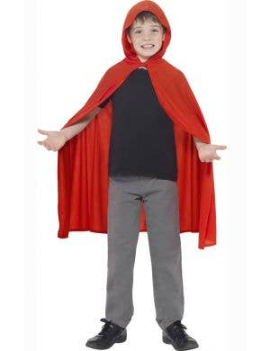 Little Red Riding Hood Kids Costume Cape