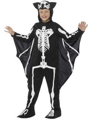 Bat Skeleton Boys Halloween Costume