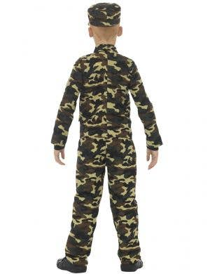 Camouflage Military Boys Soldier Fancy Dress Costume