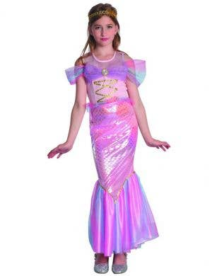 Pink Mermaid Costume for Girls