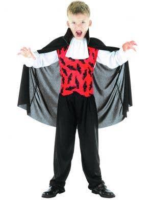 Bat Vampire Boys Halloween Costume