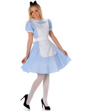 Womens Alice in Wonderland Femal Disney Characters Costume - Main Image