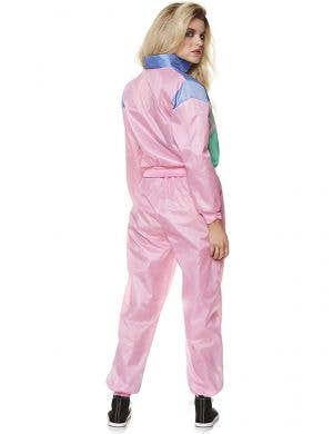 1980's Light Pink Shell Suit Women's Costume