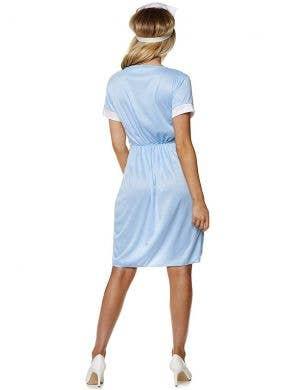 Vintage Blue Women's Nurse Dress Up Costume
