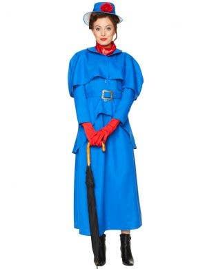 Victorian Nanny Womens Mary Poppins Costume - Main Image