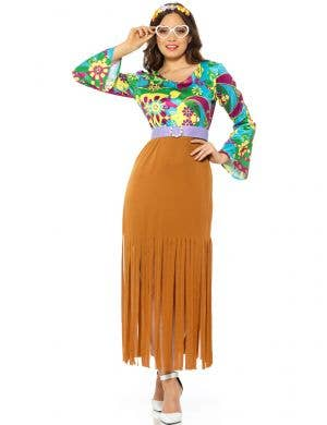 Hippie Babe Costuem for Women - Front Image