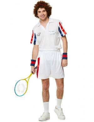 John Mcenroe Tennis Player Costume for Men - Main Image