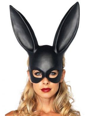 Bunny Adult's Masquerade Mask - Black