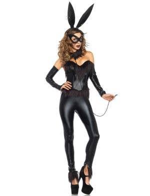 Black Bunny Sexy Women's Leg Avenue Costume Main