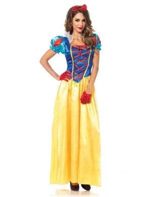 Classic Snow White Women's Disney Costume Front View