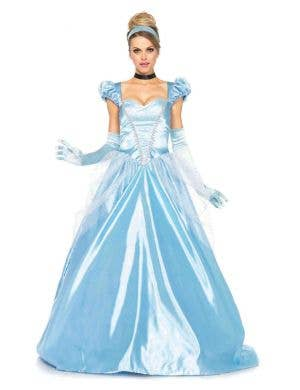 Women's Cinderella Disney Princess Costume Front View