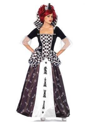 Deluxe Chess Queen Women's Costume Main Image