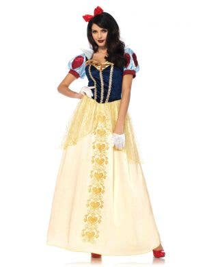 Storybook Princess Women's Deluxe Snow White Costume