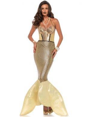 Golden Glimmer Women's Mermaid Costume