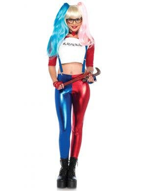 Women's Sexy Suicide Squad Harley Quinn Costume Front Image