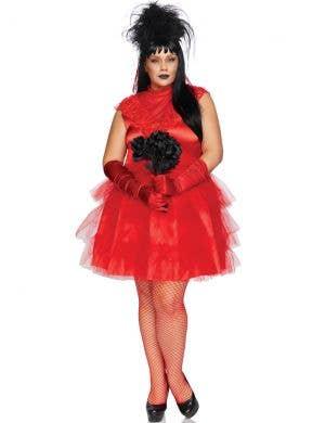 Beetle Bride Women's Plus Size Lydia Halloween Costume