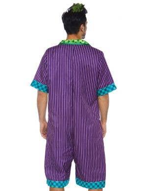 Super Villain Men's Joker Fancy Dress Costume