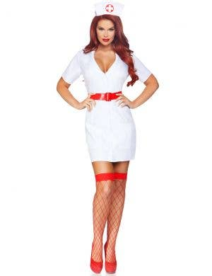 TLC Nurse Women's Sexy Fancy Dress Costume