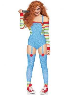 Killer Doll Women's Sexy Chucky Halloween Costume