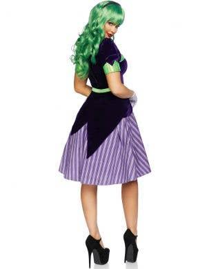 Comic Book Baddie Women's Retro Joker Costume