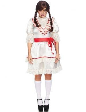 Haunted Doll Women's Annabelle Halloween Costume