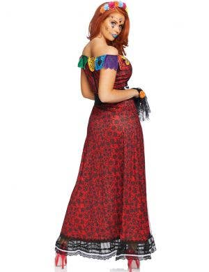 Deluxe Day of the Dead Women's Fancy Dress Costume