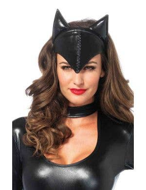 Feline Femme Fatale Black Cat Ears Headband