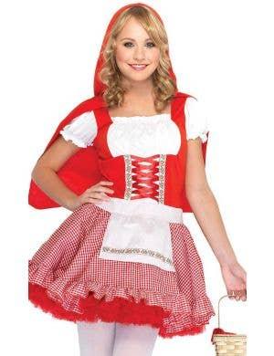 Lil Miss Red Teen Girl's Fancy Dress Costume