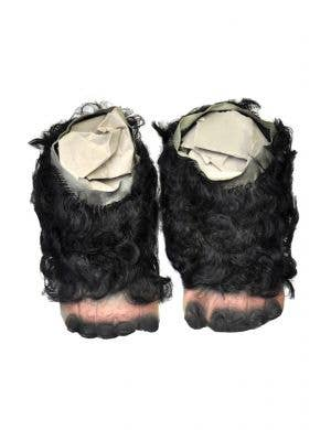 Gorilla Latex Costume Feet with Hair
