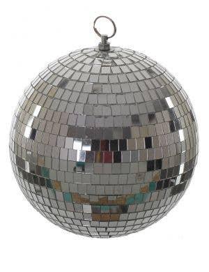 Small 20cm Silver Mirror Disco Ball Party Decoration
