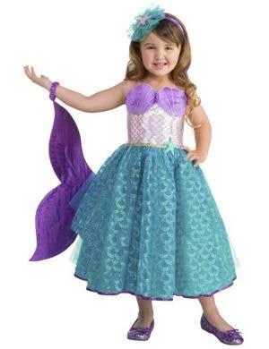 Seawater Sweetie Toddler Girls Mermaid Costume