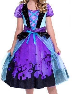 Cauldron Cutie Girls Witch Halloween Costume