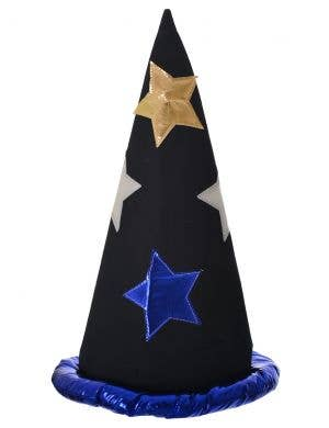 Tall Pointed Black Wizard Hat Costume Accessory