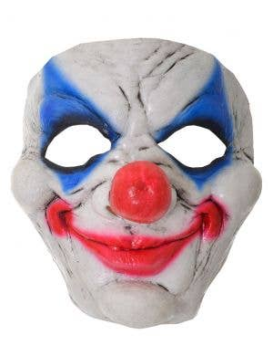 Smiling Scary Clown Latex Halloween Mask