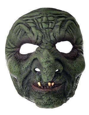 Green Witch Latex Halloween Costume Mask