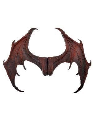 Rust Red Dragon Wings, Mask and Tail Costume Kit