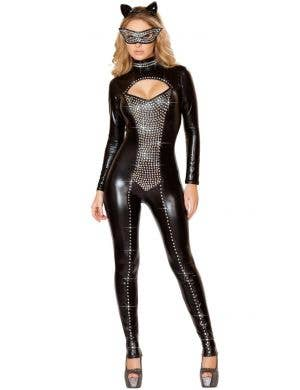 Seductive Kitty Cat Women's Black Sexy Costume