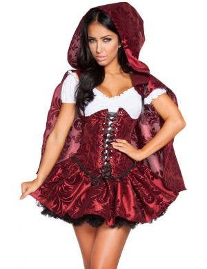 Lusty Lil Red Riding Hood Sexy Women's Costume