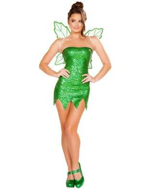 Mischievous Fairy Sexy Tinkerbell Women's Costume