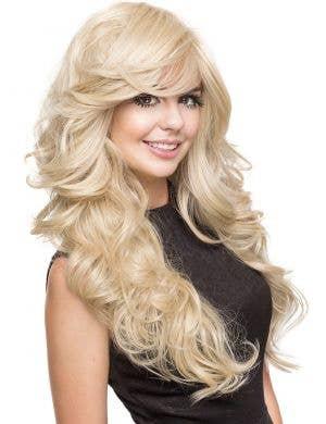 Farrah Blonde Bombshell Women's Deluxe Fashion Wig