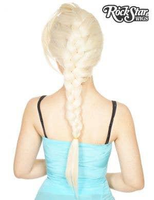 Deluxe Blonde Elsa Lace Front Women's Fashion Wig