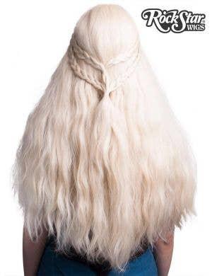 Daenerys Targaryen Blonde Lace Front Cosplay Wig for Women