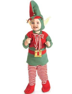 Rubies Infant And Toddler Lil' Christmas Elf Costume
