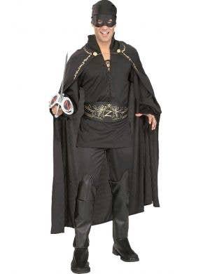 Zorro Deluxe Men's Fancy Dress Costume